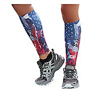 Zensah Independence Print Compression Leg Sleeves Injury Recovery - Liberty XS/S