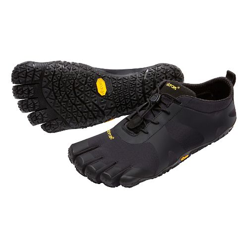 Womens Vibram V-Alpha Trail Running Shoe - Black 39