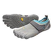 Womens Vibram V-Aqua Trail Running Shoe - Grey/Blue 38
