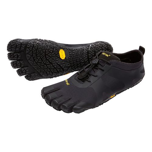 Mens Vibram V-Alpha Trail Running Shoe - Black 44