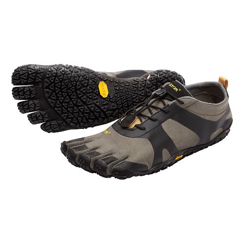 Mens Vibram V-Alpha Trail Running Shoe - Grey/Black 43