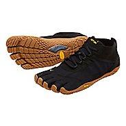 Mens Vibram V-Trek Trail Running Shoe - Black/Gum 41