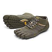 Mens Vibram V-Trek Trail Running Shoe - Military/Dark Grey 44