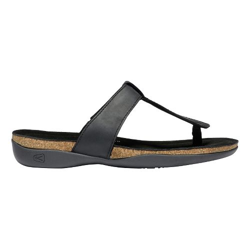 Womens Keen Ana Cortez Flip Sandals Shoe - Black 9