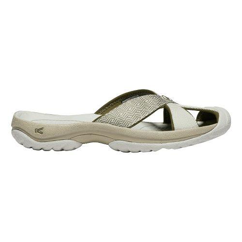 Womens Keen Bali Sandals Shoe - Grey/Dark Olive 9.5