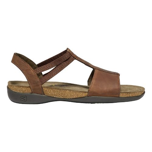 Womens Keen Ana Cortez T Strap-W Sandals Shoe - Brisk/espresso 6