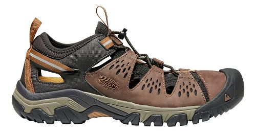 Mens Keen Arroyo III Trail Running Shoe - Cuban/Golden Brown 10.5