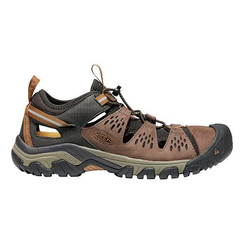 Mens Keen Arroyo III Trail Running Shoe - Cuban/Golden Brown 8