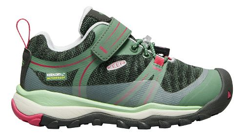 Kids Keen Terradora Low WP Hiking Shoe - Duck Green 8C
