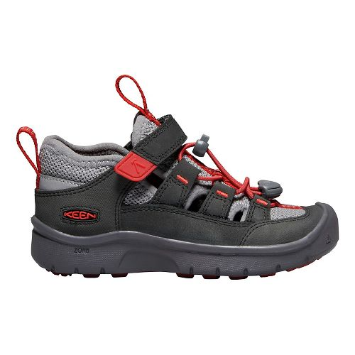 Kids Keen Hikeport Vent Hiking Shoe - Red 11C