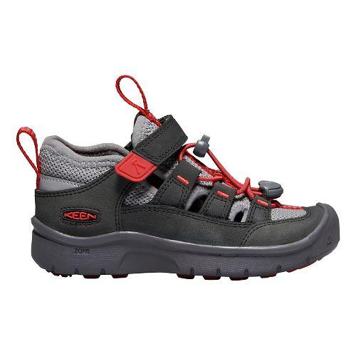 Kids Keen Hikeport Vent Hiking Shoe - Red 9C