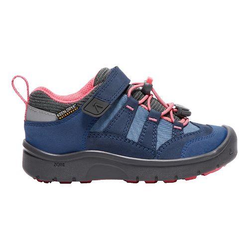 Kids Keen Hikeport WP Hiking Shoe - Blue Sugar Coral 9C
