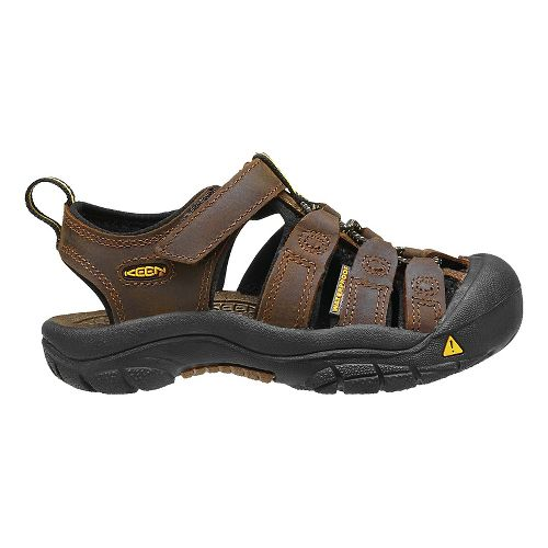 Kids Keen Newport Premium Sandals Shoe - Dark Brown 8C