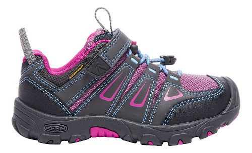 Kids Keen Oakridge Low WP Hiking Shoe - Magnet Berry 1Y