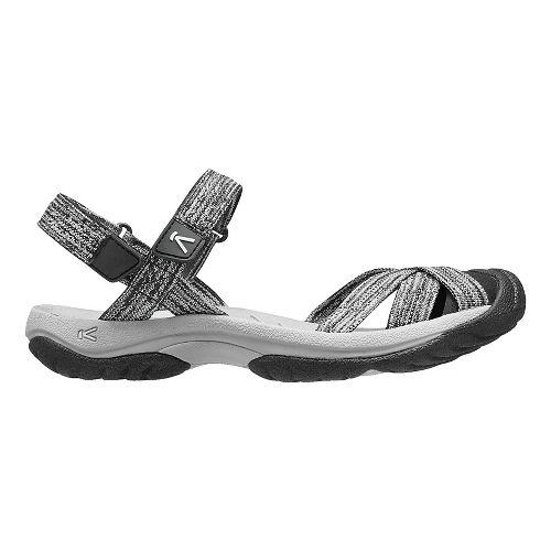 Womens Keen Bali Strap Sandals Shoe - Grey/Black 8