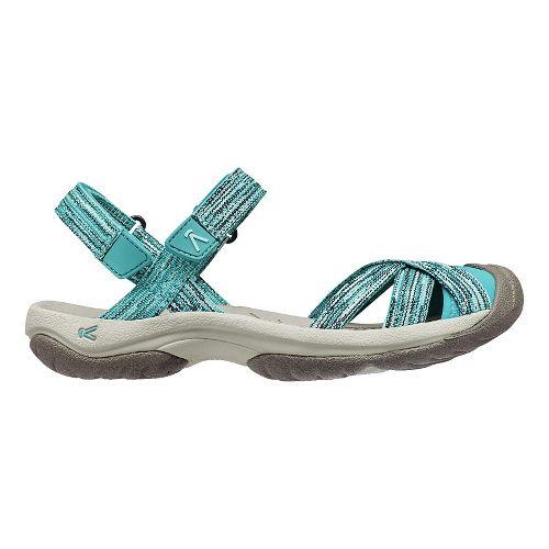 Womens Keen Bali Strap Sandals Shoe - Aqua 6