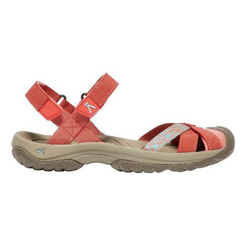 Womens Keen Bali Strap Sandals Shoe - Crabapple 10