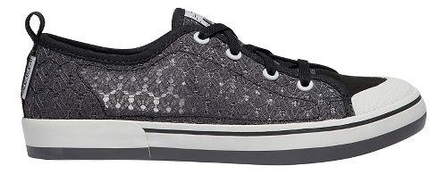 Womens Keen Elsa II Sneaker Crochet Sandals Shoe - Magnet Black 6.5