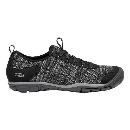 Womens Keen Hush Knit Casual Shoe - Black Gargoyle 7