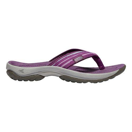 Womens Keen Kona Flip Sandals Shoe - Grape Kiss 10