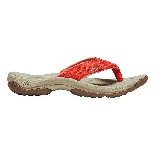 Womens Keen Kona Flip Sandals Shoe - Crabapple 10