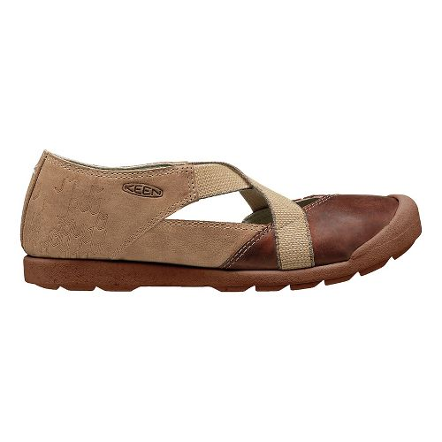 Womens Keen Lower East Side MJ Casual Shoe - Red Brown 10
