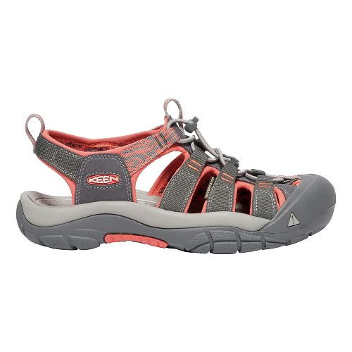Womens Keen Newport Hydro Sandals Shoe - Magnet Coral 8.5