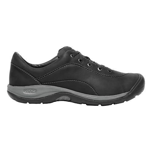 Womens Keen Presidio II Casual Shoe - Black/Grey 8.5