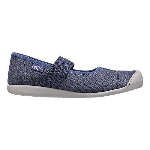 Womens Keen Sienna MJ Canvas Casual Shoe - Crown Blue 10.5