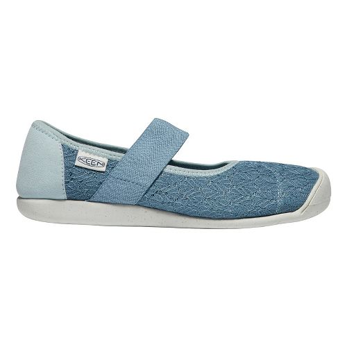 Womens Keen Sienna MJ Knit Sandals Shoe - Blue 7