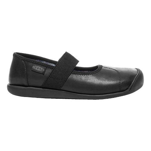 Womens Keen Sienna MJ Leather Casual Shoe - Black 9.5