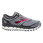 Womens Brooks Ariel 18 Running Shoe - Grey/Pink 6