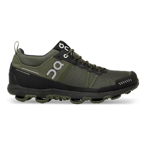 Mens On Cloudventure Midtop Running Shoe - Pine/Stone 8.5