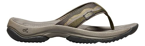 Mens Keen Kona Flip Sandals Shoe - Dark Olive 10.5
