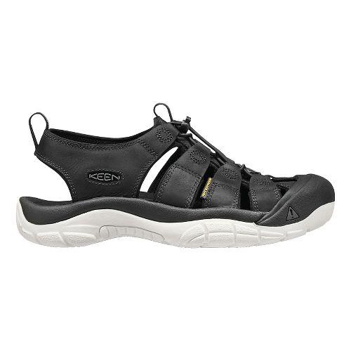 Mens Keen Newport ATV Sandals Shoe - Black White 11.5