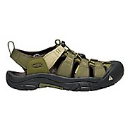 Mens Keen Newport Hydro Sandals Shoe - Dark Olive 9