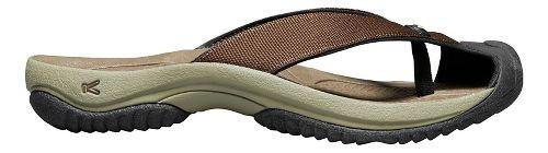 Mens Keen Waimea H2 Sandals Shoe - Dark Earth 10