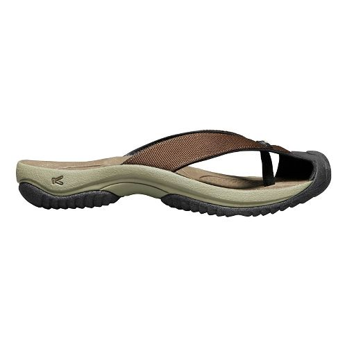 Mens Keen Waimea H2 Sandals Shoe - Dark Earth 8.5