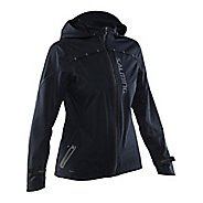 Womens Salming Abisko Rain Jackets - Black L