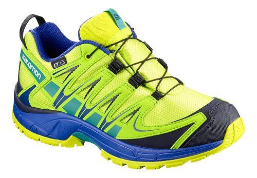 Kids Salomon XA PRO 3D CSWP Trail Running Shoe - Acid Lime 1Y