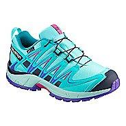 Kids Salomon XA PRO 3D CSWP Trail Running Shoe - Blue Curacao 2Y