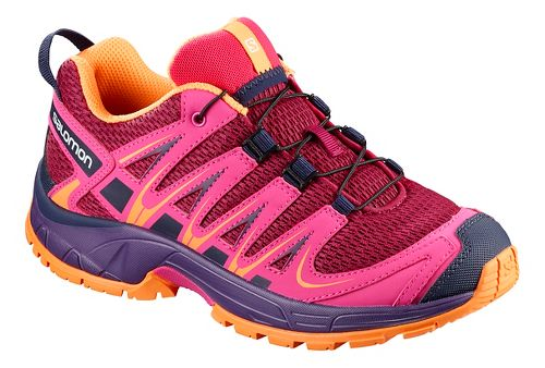 Kids Salomon XA PRO 3D Trail Running Shoe - Acai 5Y