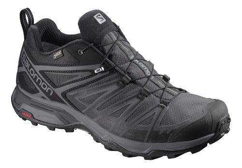 Mens Salomon  X ULTRA 3 GTX Hiking Shoe - Black Magnet 12.5