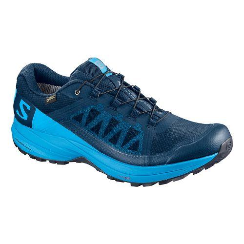 Mens Salomon XA Elevate GTX Running Shoe - Poseidon 12