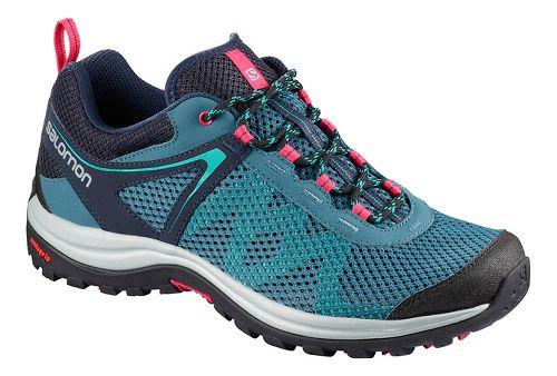 Womens Salomon Ellipse Mehari Hiking Shoe - Phantom Navy 7.5