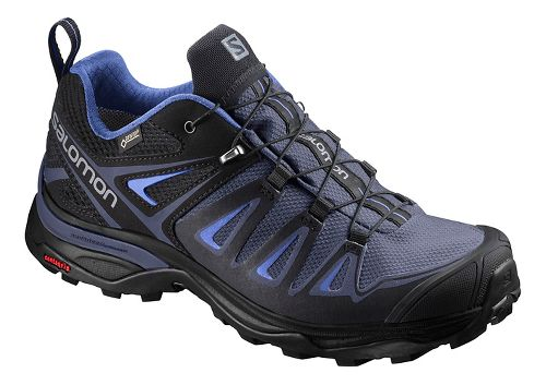Womens Salomon X Ultra 3 GTX Hiking Shoe - Crown Blue 10.5