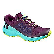 Womens Salomon XA Elevate Trail Running Shoe - Purple Blue 7.5