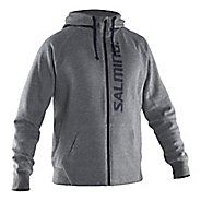 Mens Salming Run Half-Zips & Hoodies Technical Tops