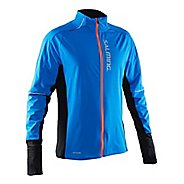 Mens Salming Thermal Wind Cold Weather Jackets - Navy L