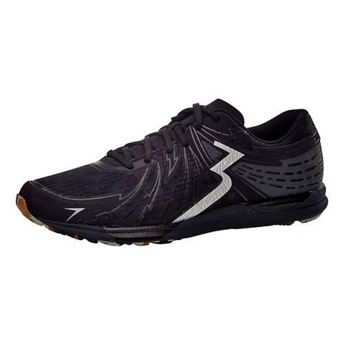 Mens 361 Degrees Bio-Speed 2 Running Shoe - Black/Ebony 10